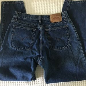 True Vintage High Waisted Tapered Leg 550 Jeans